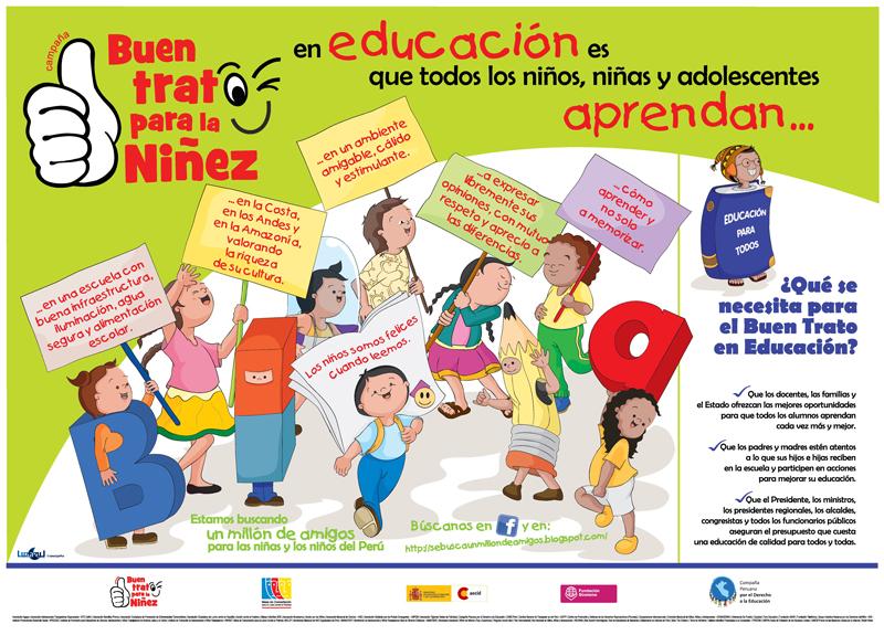 CPDE Campaña Buen Trato para la Niñez en Educación - CPDE