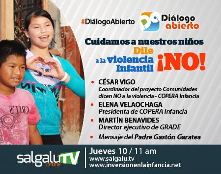 Publicidad digital Programa Dialogo Abierto  10 de abril