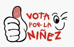 Logo Vota por la Niñez