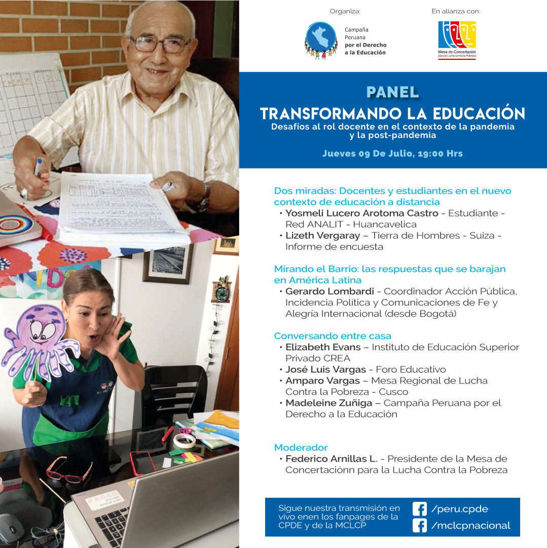 """""""Transformando la Educación: Desafíos al rol docente en el contexto de la pandemia y la post-pandemia"""""""